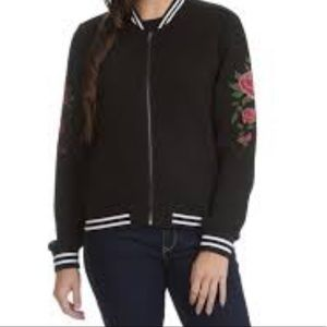 EUC Ashley Outerwear Quilted Baseball Jacket